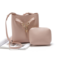 Buy one get two !2017New Fashion handbag women Messenger Bags with  composite bag shoulder bags free shipping