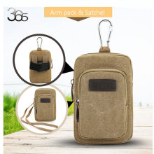 Free Shipping Travel Brand Canvas Leg Bag Men Messenger Adjustable Shoulder Retro Handbags Waist Belt  Package bags Arm Bag