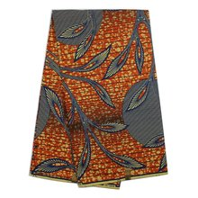Free Shipping ! Wholesale Price ,Guaranteed Veritable Dutch Real Wax Hollandais Wax ,African Printed Fabric H692(China)