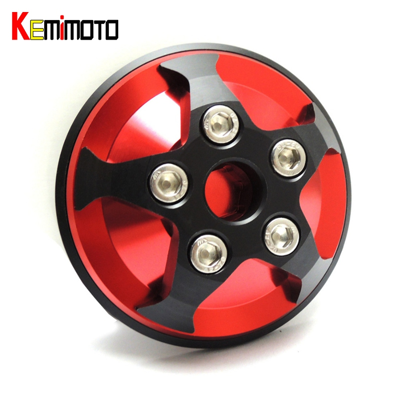 KEMiMOTO CNC Clutch Cover Slider for Yamaha YZF-R3 YZF-R25 YZF R3 R25 2014-2017 Motorcycle Accessories MT03 MT-25 2015 2016<br>
