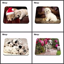 Top Sell Beautiful Dog Best Custom Mousepads Rubber Pad 18*22cm and 25*29cm And 25*20cm  Lock and No Lock Mouse Pad As A Gift