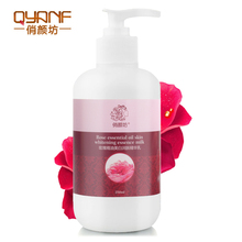 QYF Rose Extract Body Lotion Body Cream Whitening Moisturizing Stretch Marks Remover Treatment Ageless Wrinkle Cream Beauty