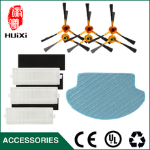Cheapest 1pcs Cleaning Mopping Cloth+3 pair HEPA Filter+3 pair Cleaner Side Brush for DT85 DT83 DM81 Vacuum Cleaner for House(China)