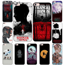 Buy MaiYaCa Stranger Things Coque Shell Phone Case Apple iPhone 8 7 6 6S Plus X 5 5S SE Cover for $1.63 in AliExpress store