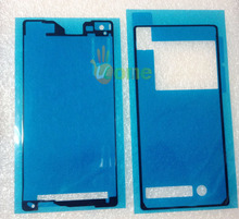 YOU KIT 2PCS/Set Original Back Cover + LCD Frame Waterproof Adhesive Sticker Glue For Sony Xperia Z2 SO-03f D6503 D6502 L50W