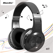 Original Bluedio HT Wireless Bluetooth 4.1 Stereo Headphones Built-in Mic Handsfree for Calls Music Headset Real Box Earphones