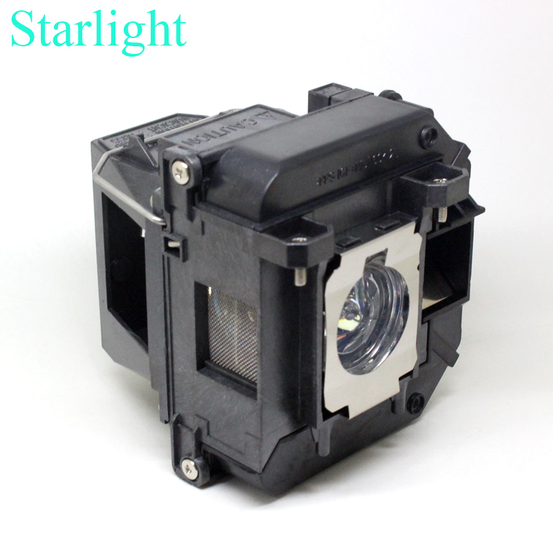 EB-C2050WN EB-915W EB-925 EB-430 EB-435W projector lamp bulb ELPLP61  V13H010L61 for Epson compatible with housing<br>