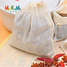 5pcs/Lot- 22*23cm Food Grade Mesh Filter Bag Fruit Juice Nut Milk Coffee Wine Nylon Liquid Filter Bags(China)