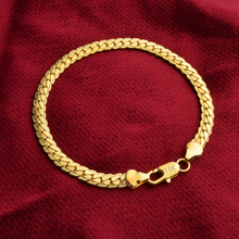 Wholesale Price,Fashion women & men brcelet Jewelry,gold color men's 5mm chain Bracelets 20cm long,Fashion Cute bracelet