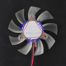 10 Pieces lot 55mm 12V 2Pin PC Graphics VGA Video Card Heatsink Cooler Cooling Replacement Fan