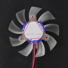 10 Pieces lot 55mm 12V 2Pin PC Graphics VGA Video Card Heatsink Cooler Cooling Replacement Fan(China)