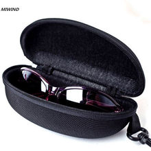 Sunglasses Reading Glasses Carry Bag Hard Zipper Box Travel Pack Pouch Case New(China)