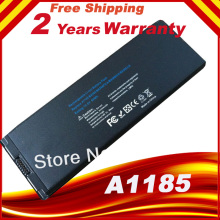 Black Laptop Battery for Apple macbook battery a1185  for MacBook 13 Inch A1181 A1185 MA561 MA566, BLACK