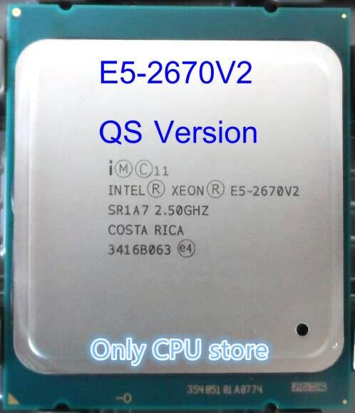 E5-2670V2 QS Version