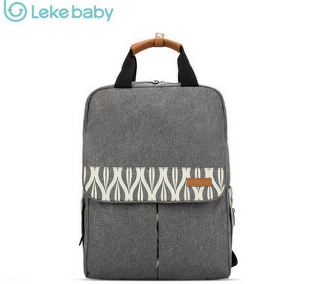 Lekebaby Waterproof Travel Maternity Baby Mummy Nappy Diaper Bag Backpack Bags For Mom Mohter Handbag Organizer bolso maternal<br>