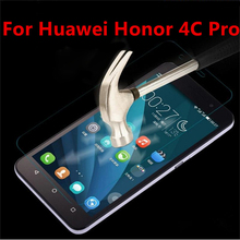 Tempered Glass For Huawei Honor 4C Pro Case 5.0 inch  2.5D 9H Premium Anti-Explosion Screen Protecters For Huawei Honor 4C Pro