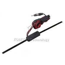 Car Antenna Booster Car Electronic FM/AM Radio Antenna Windshield Mount 12V Non-Directional Signal strengthen