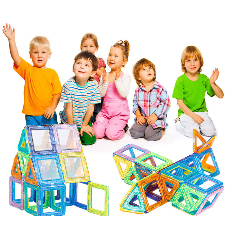 Mini 64PCS Magnetic Designer Construction Building Blocks Kids Toys Educational Plastic Bricks Technic Assembly Enlighten Blocks<br><br>Aliexpress