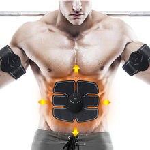 Sans fil Stimulateur Musculaire EMS Stimulation Corps machine à minceur Abdominale  Muscle Exerciseur masseur corporel Ceinture 0555497a683