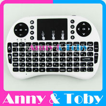 English or Russian mini 2.4G Raspberry PI 3 wireless Keyboard Fly Air Mouse with Touchpad for TV BOX PC Tablet Ras PI2 Banana PI
