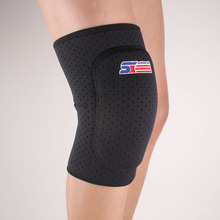 2017 New Thickening Kneepad Football Volleyball Extreme Sports Knee Pad Eblow Brace Support Lap Protect Cycling Knee Protector(China)