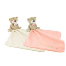 Infant Reassure Towel Bear Blankie Development Baby Toy Newborn Gift Appease Towel Educational Plush Toy
