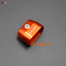 CNC Billet Throttle Cable Holder Clamp Protection Guard for KTM SX XC XCW EXC 4 Stroke Orange new E-Moto(China)