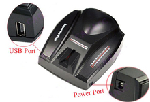 by dhl or ems 100 pieces new version,Full Band Car Radar Detectors Voice for GPS Navigator A381(China)