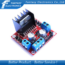 1pcs New Dual H Bridge DC Stepper Motor Drive Controller Board Module L298N MOTOR DRIVER new Free shipping