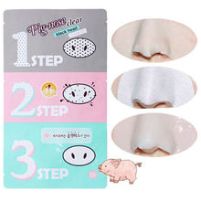 Vacuum Blackhead Remover Pig-Nose Clear Black head 3-STEP KIT Strip Packs Masks Peels Care Spot Cleaner Aspirateur Point Noir #1
