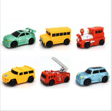 2017 New Engineering Vehicles Truck MINI Magic Pen Inductive Children's Truck Tank Toy Car Draw Lines Induction rail Track Car