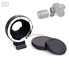 Commlite Electronic AF Auto Focus Lens Mount Ring Adapter for EOS-M43 Canon EF EF-S Lens to Micro 4/3 M43 MFT Camera EF-M43