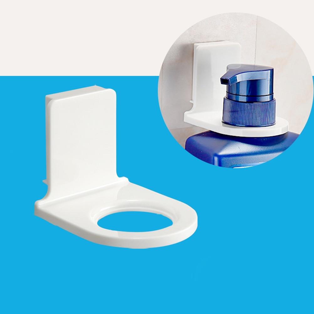 2018 Plastic Self Adhesive Wall Mounted Bathroom Bottle Holder ...