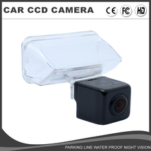CCD Car Reverse Camera HD Rear View Camera for Peugeot 206 207 307 407 Citroen DS4 Toyota Camry 2012-2014 Yaris 2013-VERSO EZ