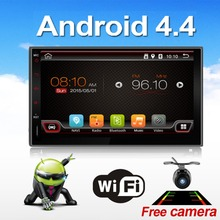 Universal 2 Din Android 4.4 Full Touch Car Pc Tablet Double Audio 7 Gps Navi Car Stereo Radio No Dvd Mp3 Player Bt Stereo 4