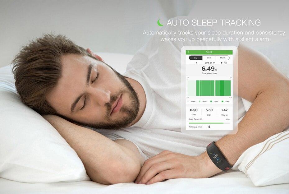COLMI Smart band DM11 3D Dynamic UI Fitness tracker Bracelet Heart rate Monitor Wristband IP68 Waterproof 10