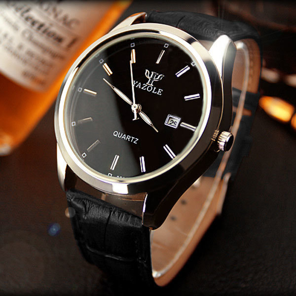 YAZOLE Wristwatch Calendar Wrist Watch Men 2016 Top  Brand Luxury Famous Quartz Watch Male Clock Quartz-watch Relogio Masculino<br><br>Aliexpress