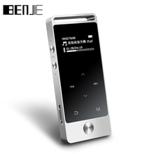 BENJIE S5 LOED Touch Screen MP3 Player 8GB Digital Voice Recorder Lossless HiFi Sound Music Player E-book APE/FLAC/WAV with FM(China)
