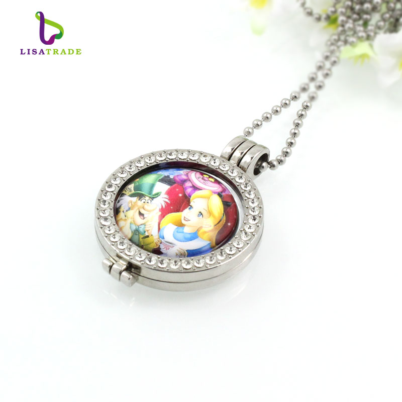coins disc necklace pendant MICO164 6