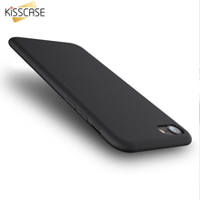 KISSCASE Case For iPhone 6 6S Plus Candy Color Silicone Gel Soft Case For iPhone 7 7 Plus 6 6S Plus Protect Rubber Phone Cover