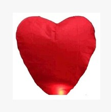 Heart Sky Lantern for Wedding/Anniversary/Party/Valentine(China)