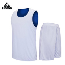 2017 Kids Basketball Jersey sets Uniforms Boys kits Youth Child Sports Training suit Shorts Reversible Quick Dry jerseys shirts