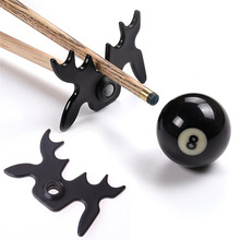 Snooker Billiards Cue Rack Bridge Head Billiards Cross Antlers Rod Holder Pool Cue Stick Frame Pole Rack Rod Accessory(China)
