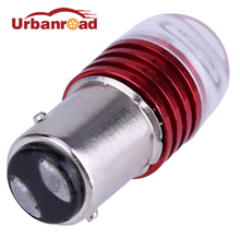 1PC 1157 bay15d S25 red led bulb brake light Bulbs Flashing For Car 1157 s25 Auto Led Turn Signal Lamp Bulb(China)