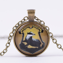 Harry Potter Imitation Gemstones Time Pendant Necklace Nature Animals Time Synthetic Gemstone Necklace G107