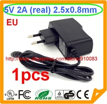 High quality IC 1PCS EU Charger Power Supply Adaptor 5V 2A 2.5mm for Tablet PC Q88 Chuwi V88 Onda V711 Vido N70 Cube(China)