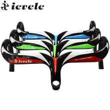 Buy ievele Full Carbon Fiber Road Bicycle Integrated Handlebar 28.6mm stem Carbon Road Handlebar Bike Parts bike accessories for $50.52 in AliExpress store