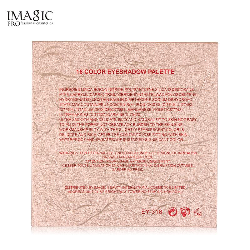IMAGIC Nouvelle Arrivée Charme 16 Couleur Palette Make up Poudre 12