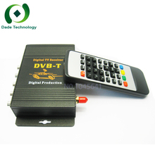 Tuners External Mobile Car TV Tuner DVB-T MPEG-4 MPEG 4 HD Digital TV BOX Receiver Mini TV Box use in Europe Free shipping(China)