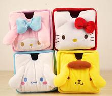 (5 Pcs/Lot) Kawaii Drawer Design Hello Kitty My Melody Table Storage Box Organizer